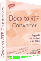 DOCX TO RTF Converter discount coupon