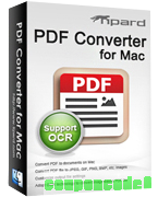 Tipard PDF Converter for Mac discount coupon