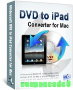 4Videosoft DVD to iPad Converter for Mac discount coupon