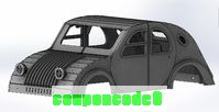 2CV Bodyshell plywood laser cut CAM files discount coupon