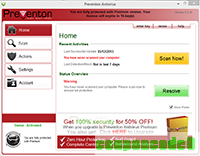 Preventon Antivirus Premium 1 day Promo discount coupon