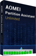 AOMEI Partition Assistant Unlimited + Lifetime Free Upgrades discount coupon
