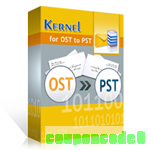 Kernel for OST to PST – Home User License discount coupon