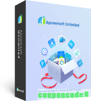 Apowersoft Unlimited Personal License (Lifetime Subscription) discount coupon
