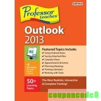 Professor Teaches Outlook 2013 discount coupon