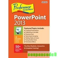 Professor Teaches PowerPoint 2013 discount coupon