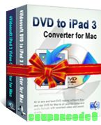 4Videosoft DVD to iPad 3 Suite for Mac discount coupon