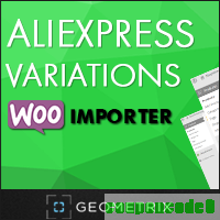 cheap Aliexpress Variations WooImporter. Add-on for WooImporter.