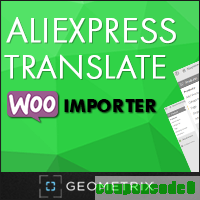 cheap Aliexpress Translate WooImporter. Add-on for WooImporter.