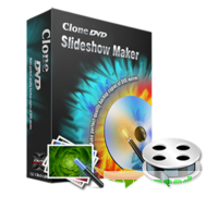 CloneDVD Slideshow Maker 3 years/1 PC discount coupon