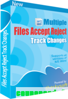cheap Multiple Files Accept & Reject Track Changes