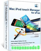 4Videosoft Mac iPod touch Manager for ePub discount coupon