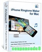 4Videosoft iPhone Ringtone Maker for Mac discount coupon