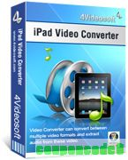 4Videosoft iPad Video Converter discount coupon