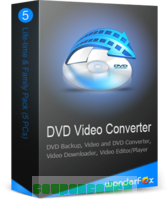 WonderFox DVD Video Converter Family Pack (5 PCs) discount coupon