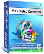 4Videosoft MKV Video Converter discount coupon