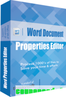 Word Document Properties Editor discount coupon