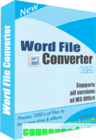 Word File Converter Batch discount coupon