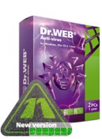 Home products (Dr.Web Anti-Virus)+Free protection for mobile device! discount coupon