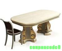 Classic table and chair discount coupon