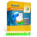 Kernel Migrator for Exchange discount coupon