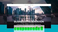 Business Presentation – VEGAS Movie Studio Template discount coupon