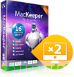 MacKeeper Standard – License for 2 Macs discount coupon