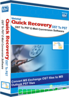 Quick Recovery for MS Exchange OST to MS Outlook PST – Corporate License discount coupon