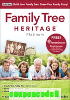 Family Tree Heritage™ Platinum 9 discount coupon