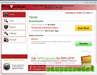 Preventon Antivirus Pro discount coupon