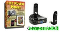Selkie Rescue Data Recovery and Q-Waves AV PLUS FREE Life Poster Maker discount coupon