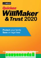 Quicken® WillMaker® Plus 2020 – Windows discount coupon