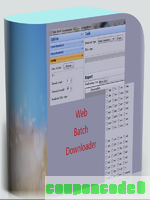 Web Batch Downloader discount coupon