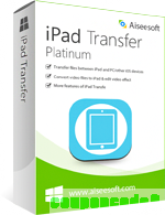 Aiseesoft iPad Transfer Platinum discount coupon