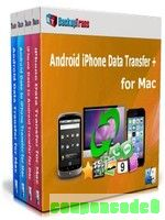 Backuptrans Android iPhone Data Transfer + for Mac (Personal Edition) discount coupon