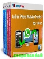 Backuptrans Android iPhone WhatsApp Transfer + for Mac(Personal Edition) discount coupon