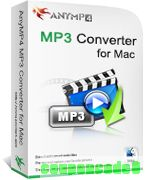 AnyMP4 MP3 Converter for Mac discount coupon