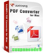 AnyMP4 PDF Converter for Mac discount coupon