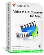 AnyMP4 Video to GIF Converter for Mac discount coupon
