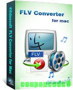 4Videosoft FLV Converter for Mac discount coupon