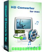 4Videosoft HD Converter for Mac discount coupon