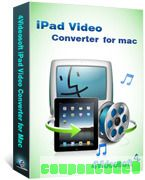4Videosoft iPad Video Converter for Mac discount coupon