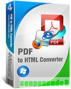 4Videosoft PDF to HTML Converter discount coupon