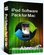 Aiseesoft iPod Software Pack for Mac discount coupon