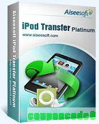 Aiseesoft iPod Transfer Platinum discount coupon