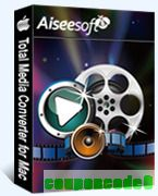 Aiseesoft Total Media converter for Mac discount coupon