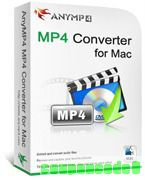 AnyMP4 MP4 Converter for Mac discount coupon