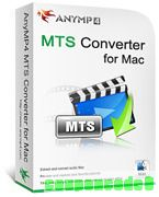 AnyMP4 MTS Converter for Mac discount coupon