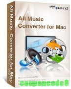 Tipard All Music Converter for Mac discount coupon