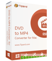 Tipard DVD to MP4 Converter for Mac discount coupon